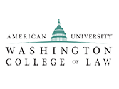 Washington College of Law logo
