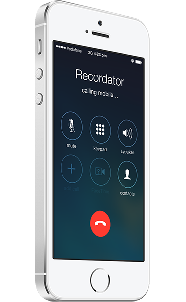 recordator calling record phone calls